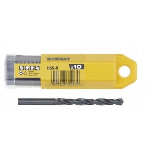 Wiertło HSS-R DIN338 6,0 mm 10szt. DeWALT DT5152-QZ