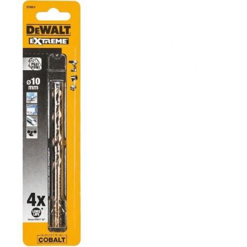 Wiertła kobaltowe 10.0mm EXTREME HSS-Co DeWALT DT4914-QZ
