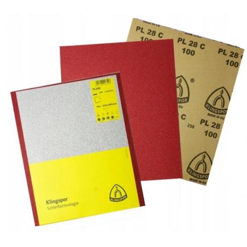 Papier ścierne gr.150 arkusz 50szt. PL28C Klingspor