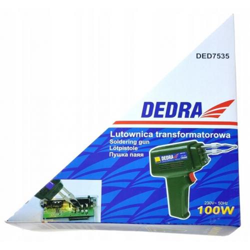 Lutownica transformatorowa 100W DEDRA 7535