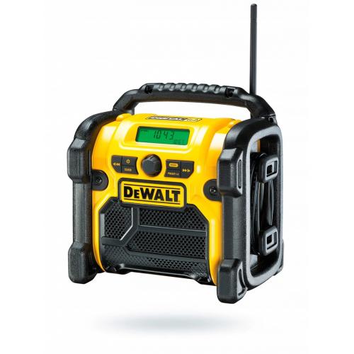 Radio budowlane AM FM AUX XR Li-Ion 18V/230V DeWALT DCR019-QW