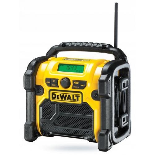 Radio budowlane 18V Li-Ion XR / DAB+ FM DeWAT DCR020-QW