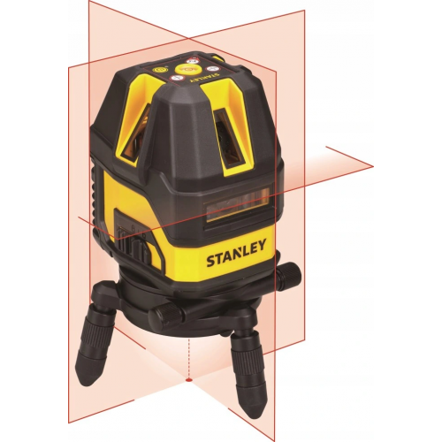 Laser Multi-line ST FM 4V1H Czerwony Stanley 77514-STHT1