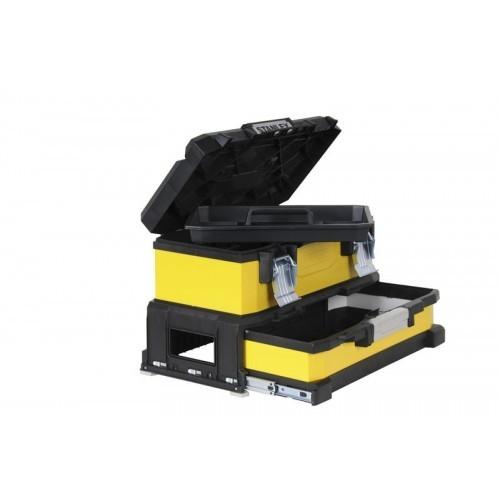 """Skrzynka narzędziowa 20"""" z szufladą żółta Stanley 95-829-1"""