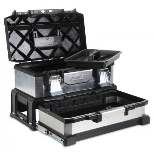 """Skrzynka narzędziowa 20""""z szufladą - galwanizowana Stanley 95-830-1"""