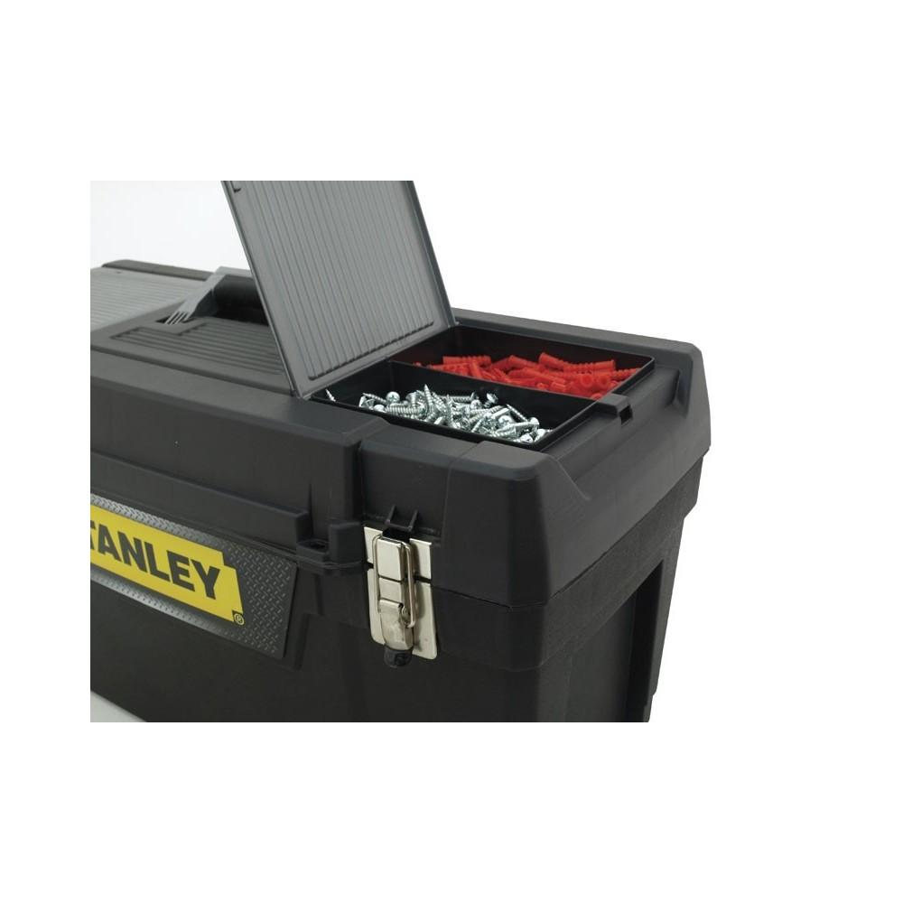 """Skrzynka narzędziowa 16"""" METAL Latch Stanley 94-857-1"""