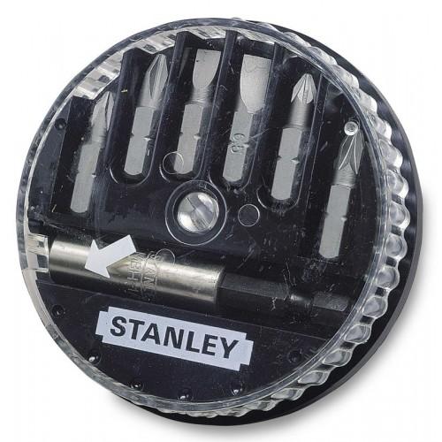 """Zestaw bitów 1/4"""" 6szt.Stanley 1-68-737"""