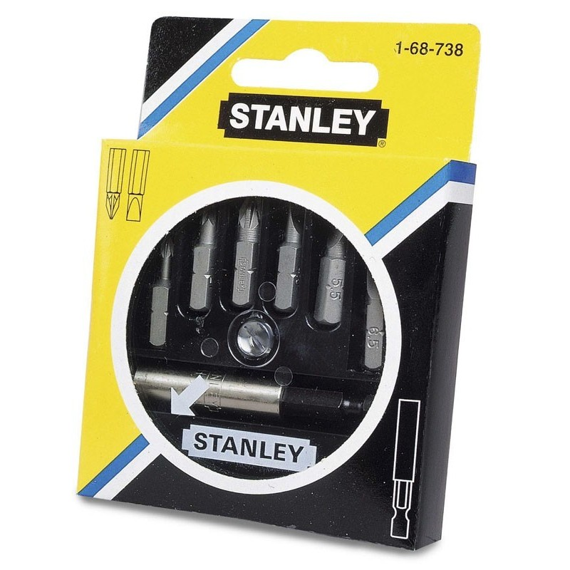"""Zestaw bitów 1/4"""" 6szt.Stanley 68-738-1"""
