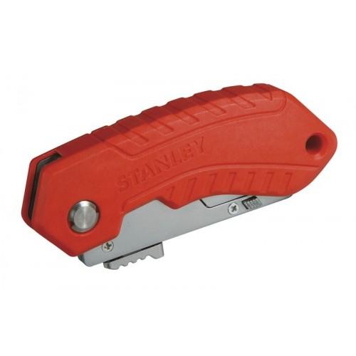 Nóż z ostrzem trapezowym chowanym automatycznie Stanley 10-243-0