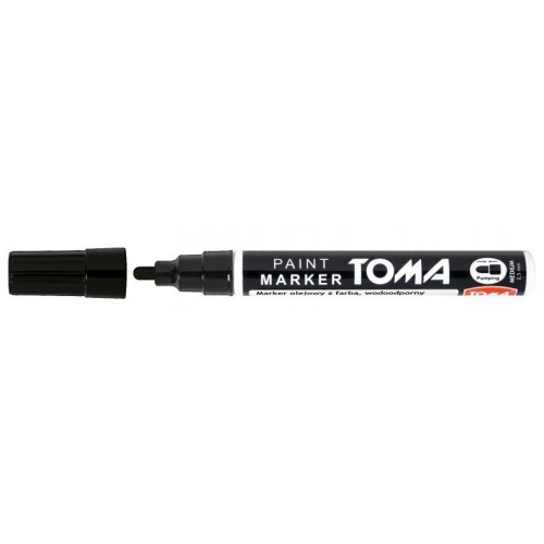 Marker olejowy czarny 2,5MM TOMA-440 CZARNY