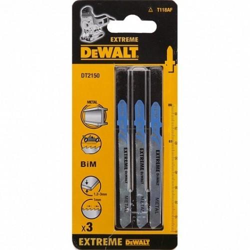 Brzeszczoty do metalu 86.5 mm gł 15mm - chwyt T 5 szt. DeWALT DT2150-QZ