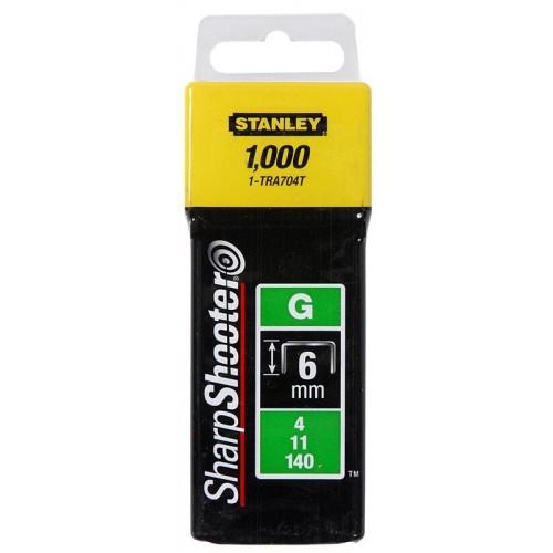 Zszywka G 6mm /1000szt. Stanley 1-TRA704T