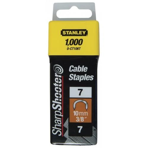 Zszywki do przew. 10mm /1000szt/ Stanley 1-CT106T