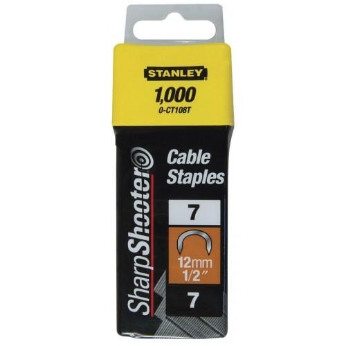 Zszywki do przew. 12mm /1000szt/ Stanley 1-CT108T
