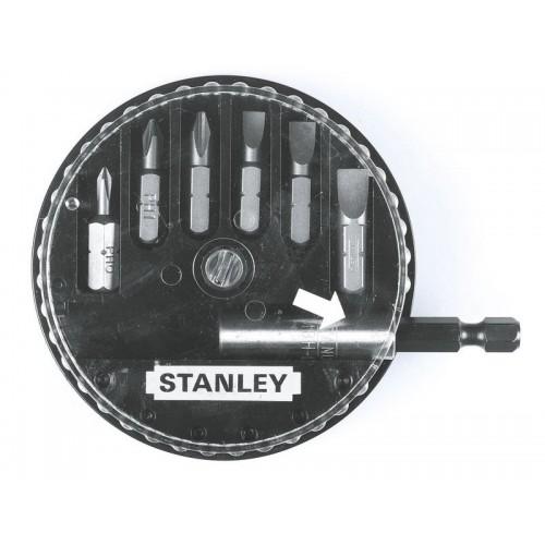"""Zestaw bitów 1/4"""" 6szt. Stanley 68-735"""