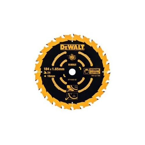 Tarcza do drewna 184x16x24zęby DeWALT DT10302-QZ