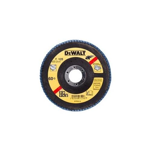 Tarcza listkowa 125mm x 22.2 gr. 36 płaska Typ27 DeWALT DT3308-QZ