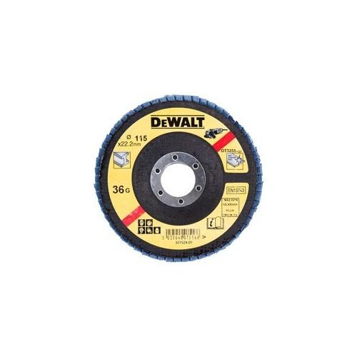 Tarcza listkowa 125mm 2.2 gr. 60 płaska Typ27 DeWALT DT3309-QZ