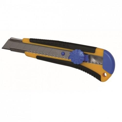 Nóż z ostrzem łamanym 18mm, prowadnica metalowa Dedra M9016P