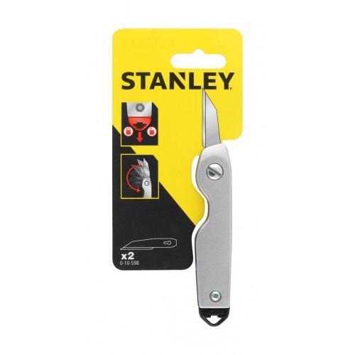 Nóż ostrze skalpel metalowy składany Stanley 10-598-0