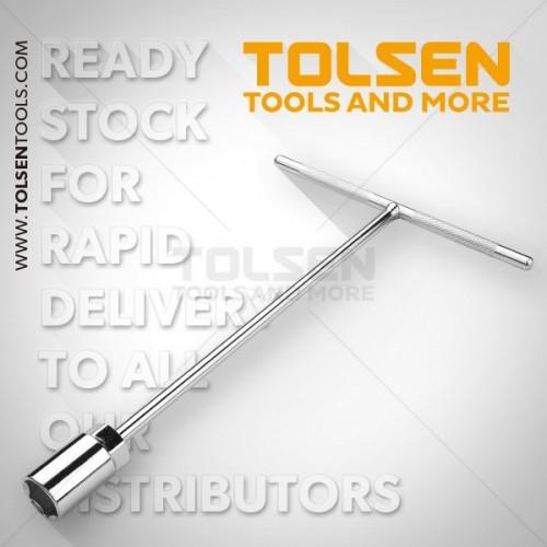 TOLSEN Klucz trzpieniowy nasad. typ T 13/280mm