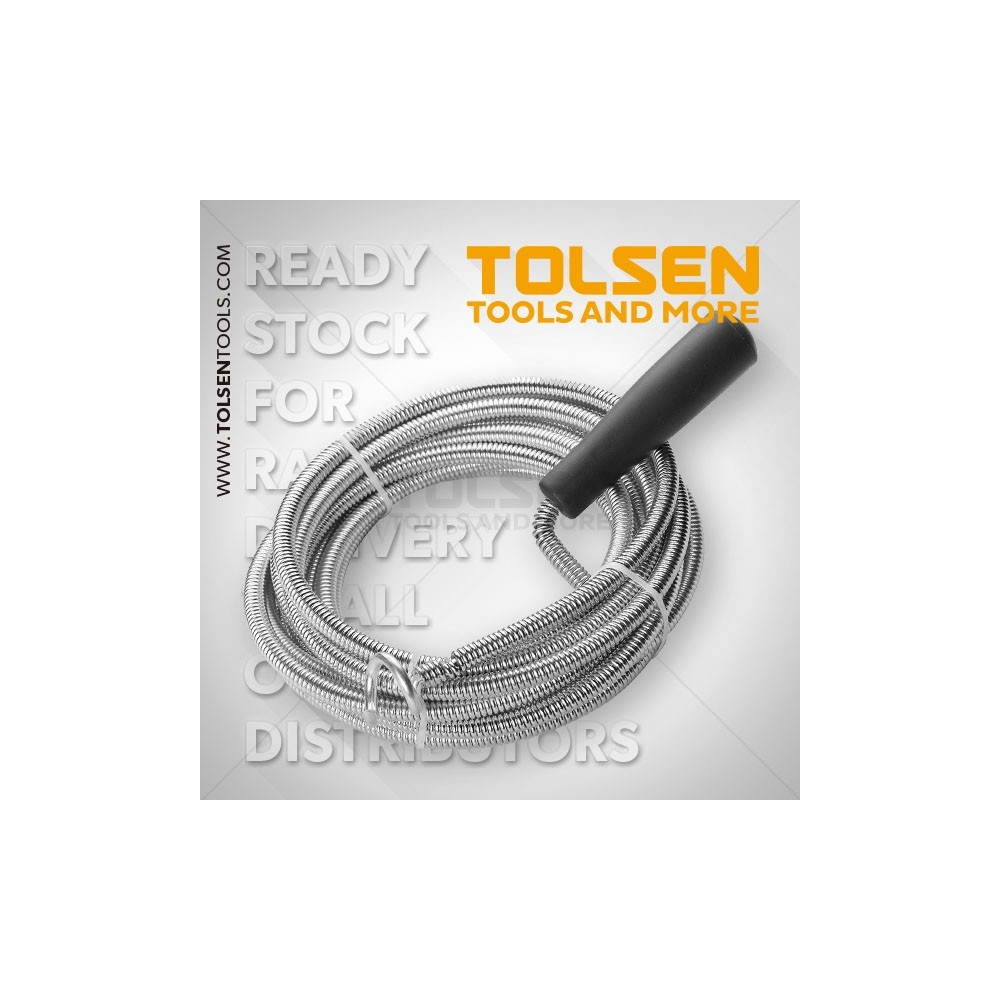 TOLSEN Spirala do kanalizacji 3m/5,5mm