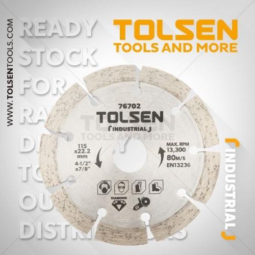 TOLSEN Tarcza diament segment 125mm Industrial