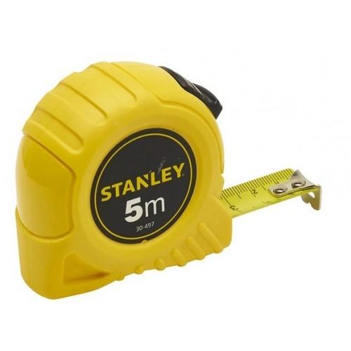Miara stalowa 5 m x 19 mm karta Stanley 30-497-0