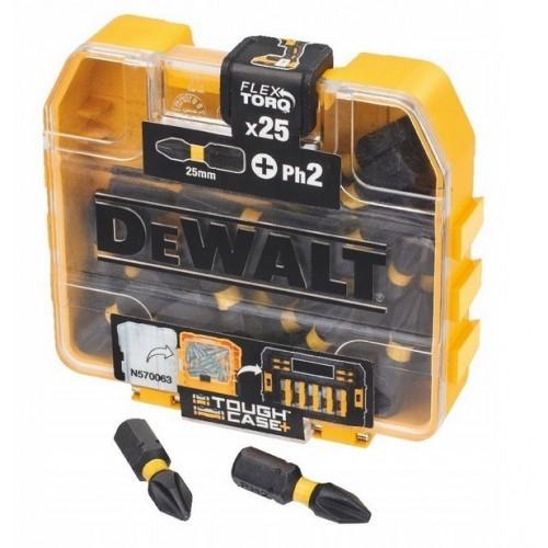 Końcówka udarowa Ph2x25mm / 25szt. DeWALT DT70555T-QZ